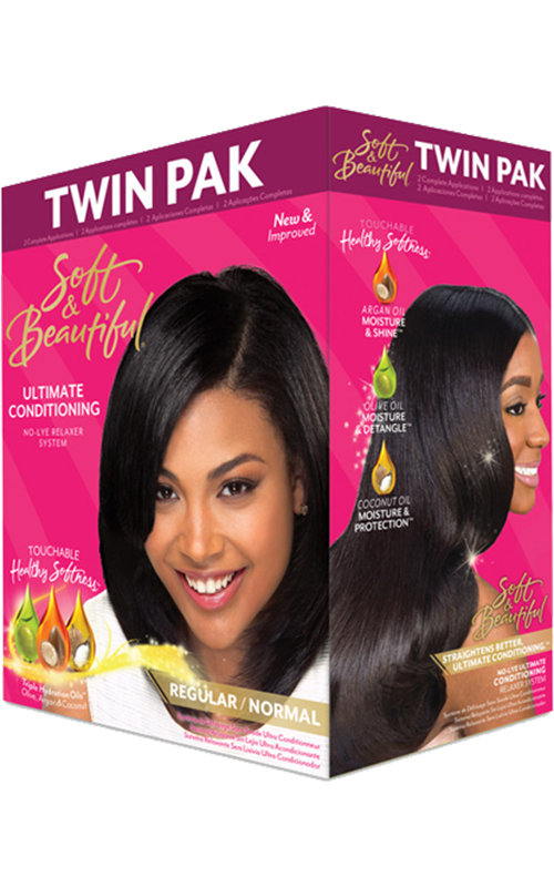 Ultimate Conditioning Relaxer Twin-Pak (Regular)